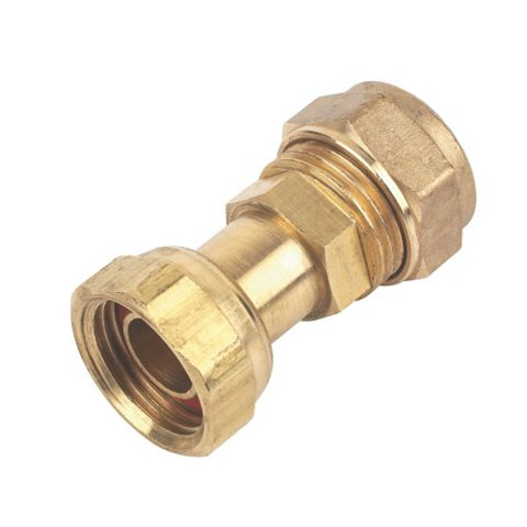 Compression Straight Tap Connector (Dia)15 mm