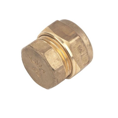 Compression Stop End (Dia)15 mm, Pack of 10