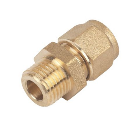 Compression Male Coupler (Dia)8 mm