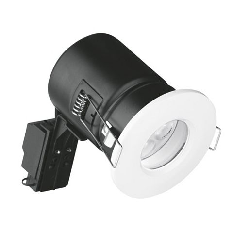 Aurora Fire Rated White Bathroom Downlight 4.5 W