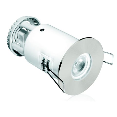 Aurora Satin Nickel Aluminium LED Downlight