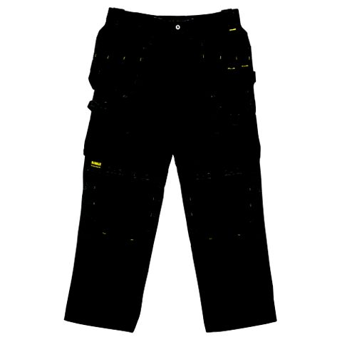 DeWalt Pro Black Work Trousers (Waist)38