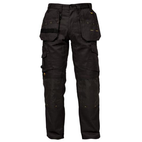 DeWalt Pro Tradesman Black Work Trousers (Waist)32