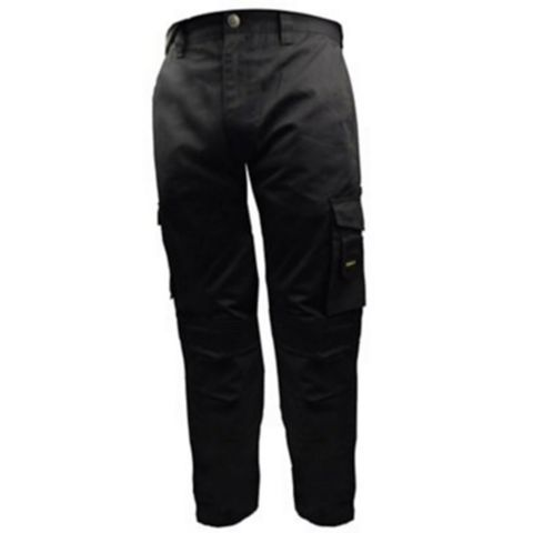Stanley Phoenix Black Work Trousers (Waist)32