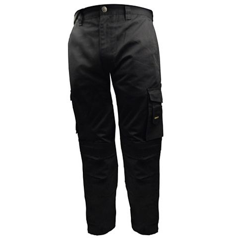 Stanley Phoenix Black Work Trousers W38