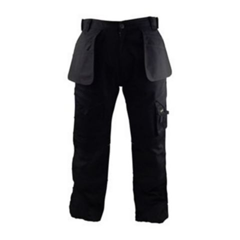 Stanley Colorado Black Work Trousers (Waist)30