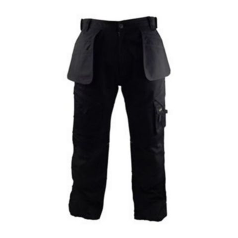 Stanley Colorado Black Work Trousers (Waist)40