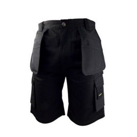 Stanley Warren Black Work Shorts (Waist)36
