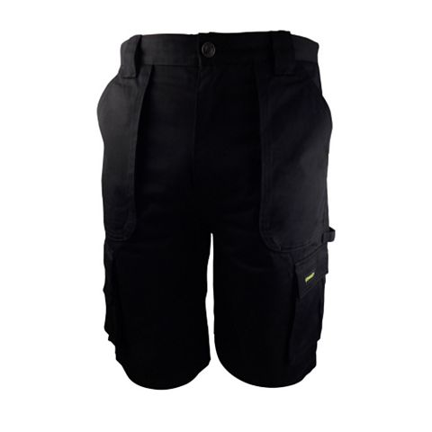 Stanley Westport Black Work Shorts (Waist)30