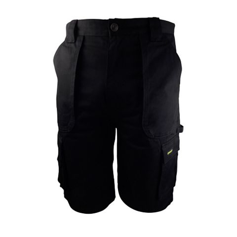 Stanley Westport Black Work Shorts (Waist)36