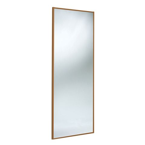 Panel Full Length Mirror Sliding Wardrobe Door (H)2220 mm (W)762 mm