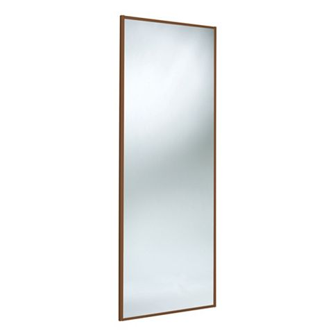 Panel Full Length Mirror Sliding Wardrobe Door (H)2220 mm (W)610 mm