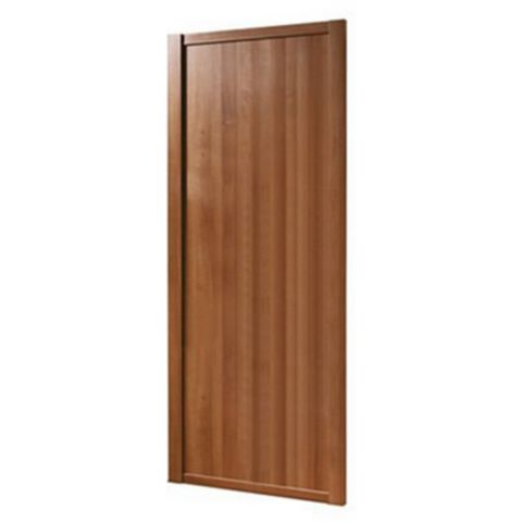 Shaker Walnut Effect Sliding Wardrobe Door (H)2220 mm (W)914 mm