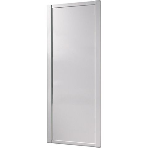 Shaker White Sliding Wardrobe Door (H)2220 mm (W)610 mm