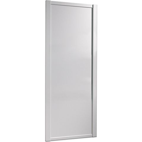 Shaker White Sliding Wardrobe Door (H)2220 mm (W)762 mm