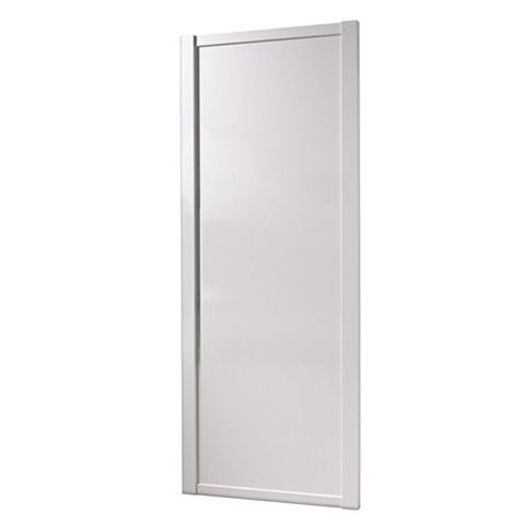 Shaker White Sliding Wardrobe Door (H)2220 mm (W)914 mm