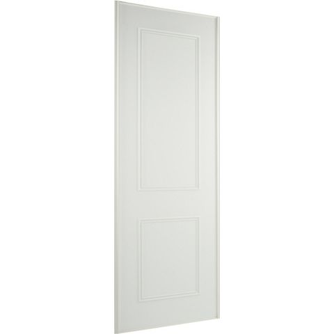 Panel White Sliding Wardrobe Door (H)2220 mm (W)762 mm