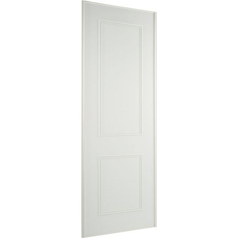 Panel White Wood Effect Sliding Wardrobe Door (H)2220 mm (W)914 mm