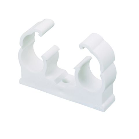 Snap Lid Double Hinged Clips 15mm, Pack of 50