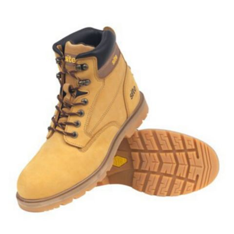 Site 200J Steel Toe Cap Rock Boots, Size 11