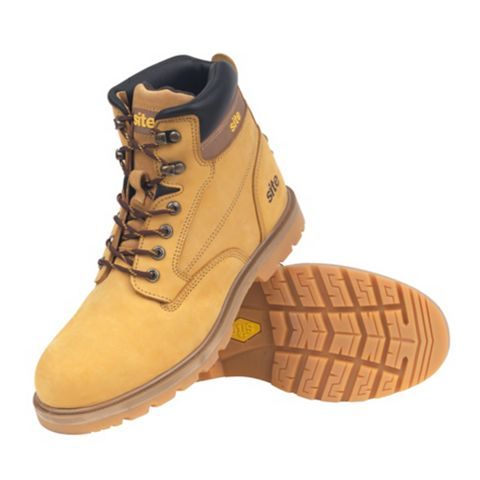 Site 200J Steel Toe Cap Rock Boots, Size 7