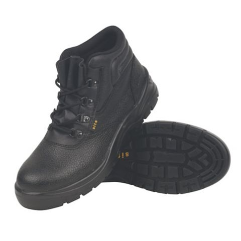 Site 200J Steel Toe Cap Safety Boots, Size 12