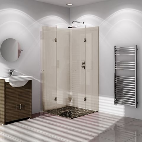 Vistelle Safari Single Shower Panel (L)2440mm (W)1000mm (T)4mm
