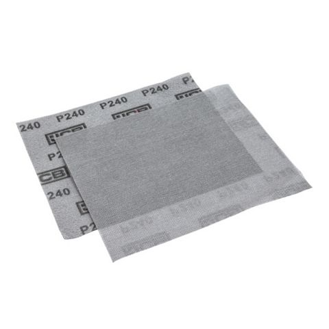 JCB 240 Grit Mesh Sanding Sheet, Pack of 2