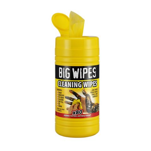 Big Wipes Industrial Wipes, Pack of 80