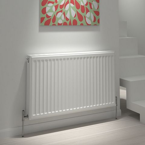 Kudox Type 21 Double Plus Panel Radiator, (H)600 (W)1800mm