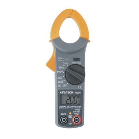 Kewtech 400 A Digital Clamp Meter