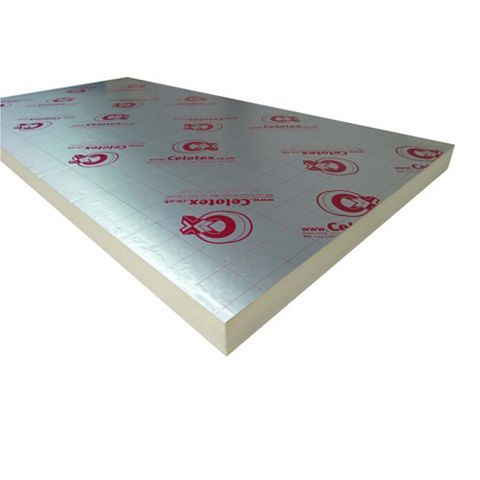 Celotex Insulation Board, (L)2400mm (W)1200mm (T) 75mm