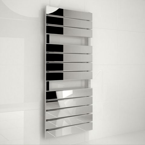 Kudox Tova Towel Warmer Silver Chrome (H)1200 (W)510mm