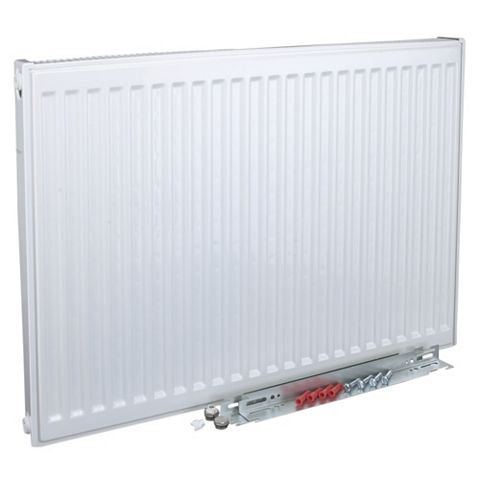 Kudox Type 11 Single Panel Radiator, (H)400 (W)1000mm