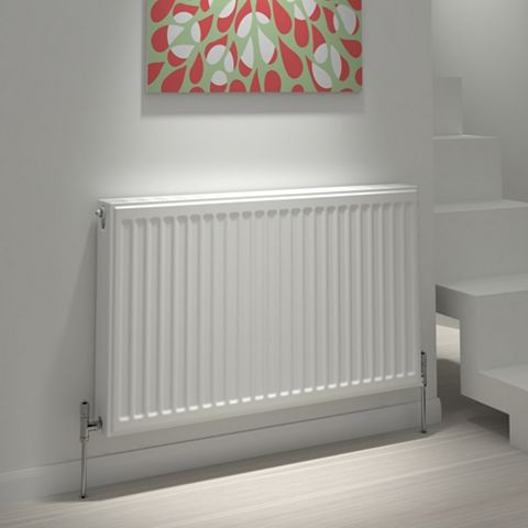 Kudox Type 21 Double Plus Panel Radiator, (H)400 (W)1200mm