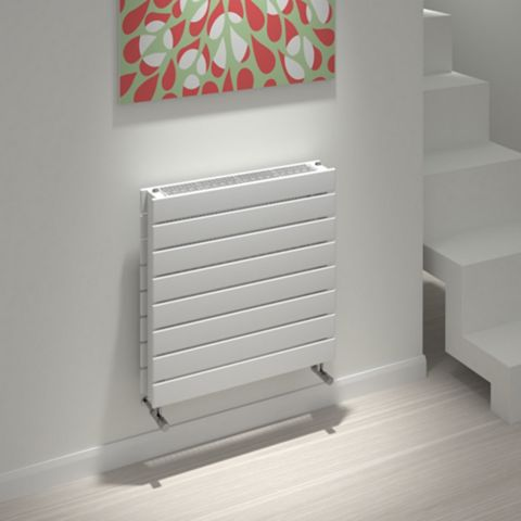 Kudox Tira Horizontal Radiator White, (H)588 mm (W)600mm