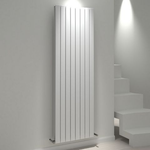 Kudox Tira Vertical Radiator White, (H)1800 mm (W)588mm
