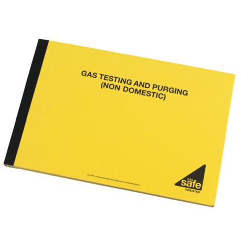 Gas Test & Purging Non-Domestic Report