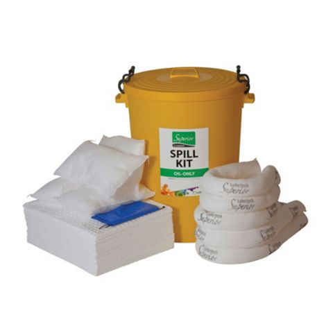 Lubetech Oil Spill Kit 90 L