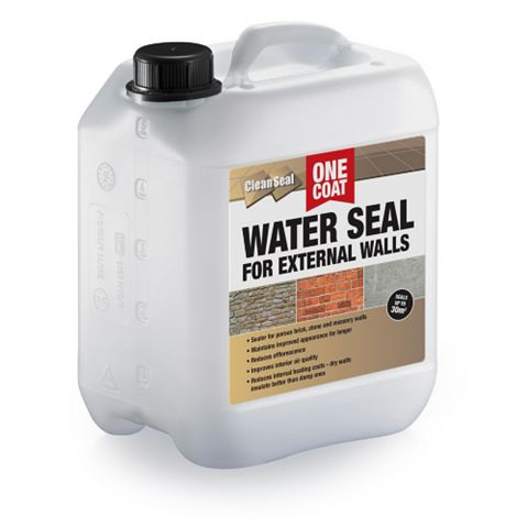 Clean Seal Brick, Stone, Mortar & Concrete Surfaces Water Seal 5L
