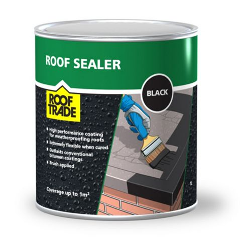 Rooftrade Black Roof Sealer 1L
