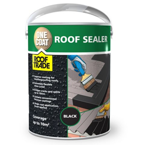 Rooftrade Black One Coat Roof Sealer 5L