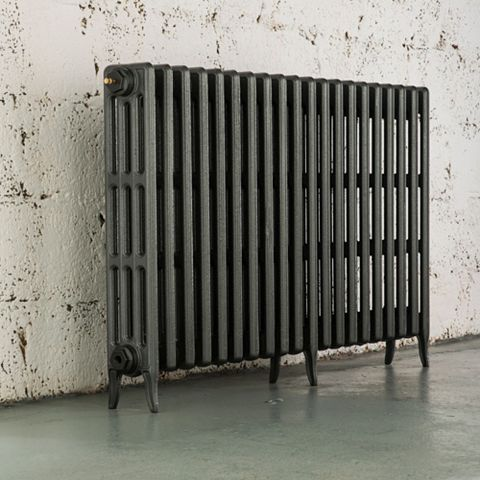 Arroll 4 Column Radiator, Cast Grey (W)1234 mm (H)760 mm