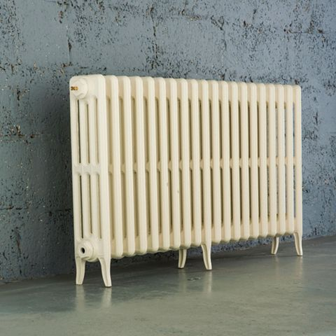 Arroll Neo-Classic 4 Column Radiator, Cream (W)1114mm (H)660mm