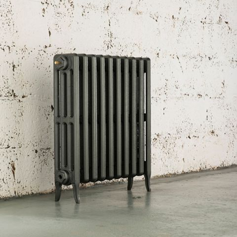 Arroll 4 Column Radiator, Cast Grey (W)754 mm (H)660 mm