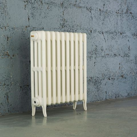 Arroll 4 Column Radiator, White (W)634 mm (H)660 mm
