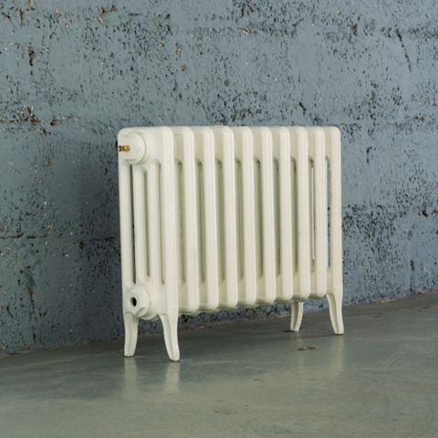 Arroll 4 Column Radiator, White (W)634 mm (H)460 mm