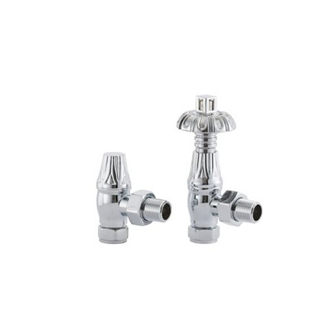 Arroll Chrome Plated Thermostatic Radiator Valve