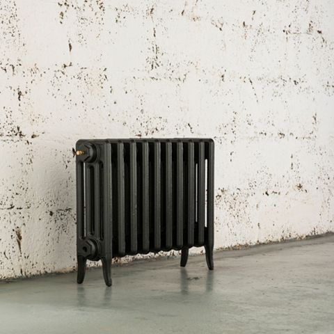 Arroll 4 Column Radiator, Anthracite (W)754 mm (H)460 mm