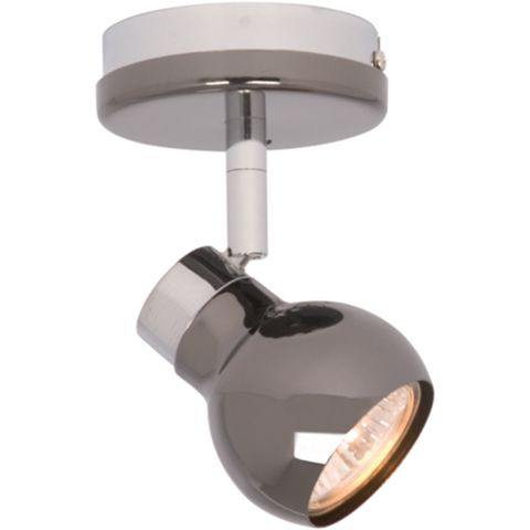 Diablo Pearl Black Nickel & Chrome Effect Spotlight